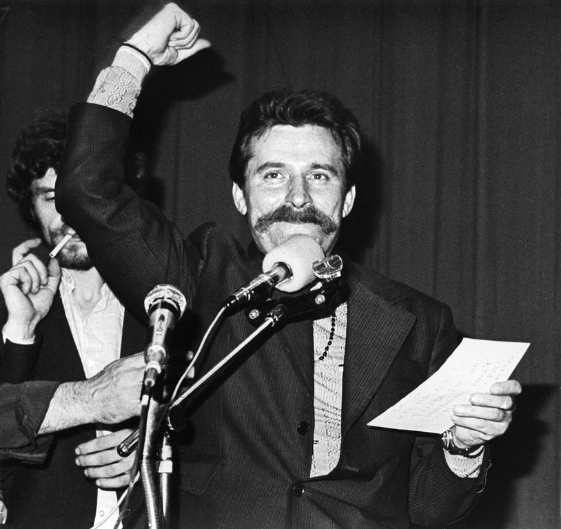 Wałęsa, der Revolutionär