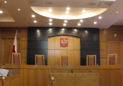 Urteil ungültig - nach Ansicht der PiS könnte der Saal auch leer sein